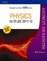 IIT-JEE ELECTRICITY AND MAGNETISM BY B M SHARMA