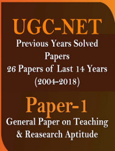 GENERAL PAPER ON TEACHING AND RESEARCH APTITUDE